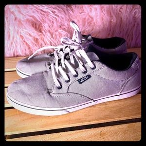 Vans gray low top